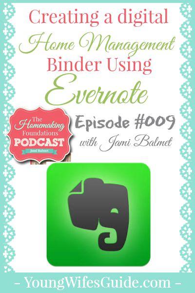 Hf #9 Creating a Digital Home Management Binder Using Evernote