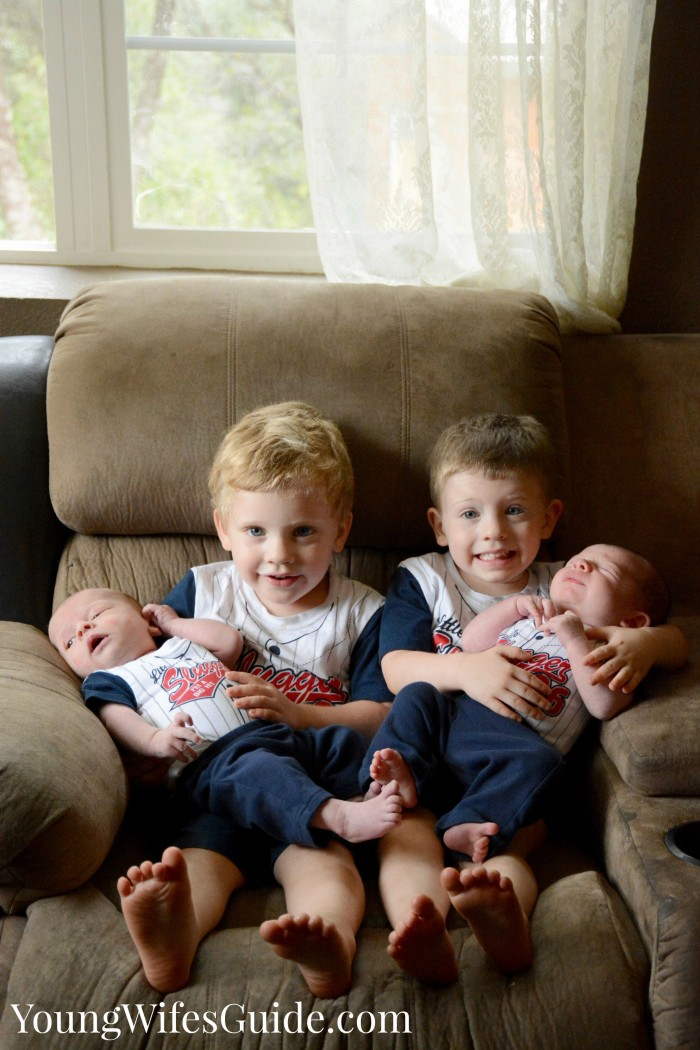 My four sweet boys!