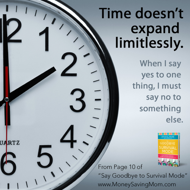 time doesn't expand limitlessly