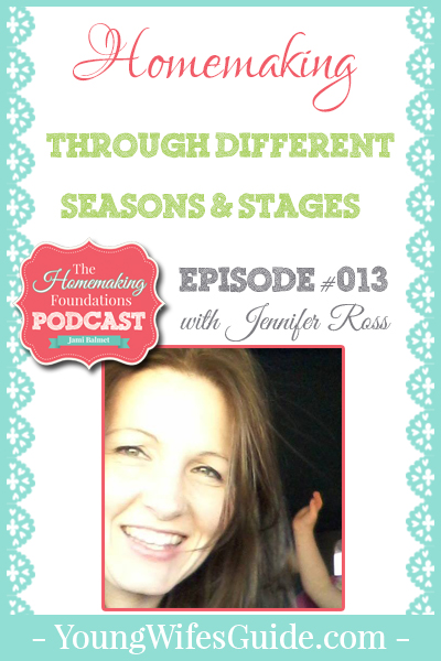 HF #13- Homemaking Through Different Seasons and Stages - Pinterest