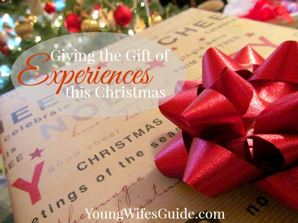 Giving the Gift of Experience 600x450
