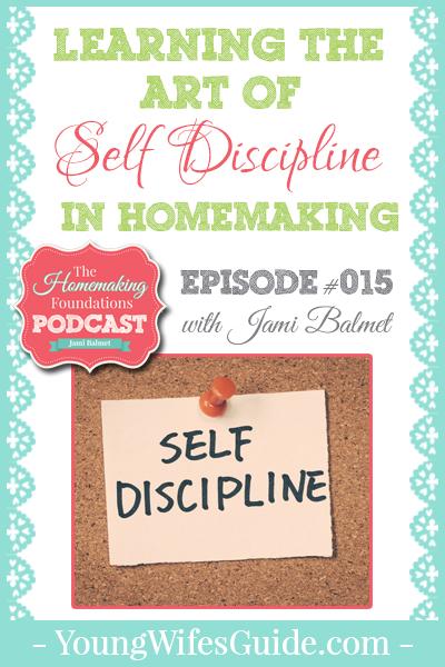 HF #15 - Learning the Art of Self-Disciplines as a Homemaker - Pinterest