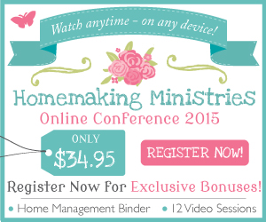 Homemaking Ministries Online Conference