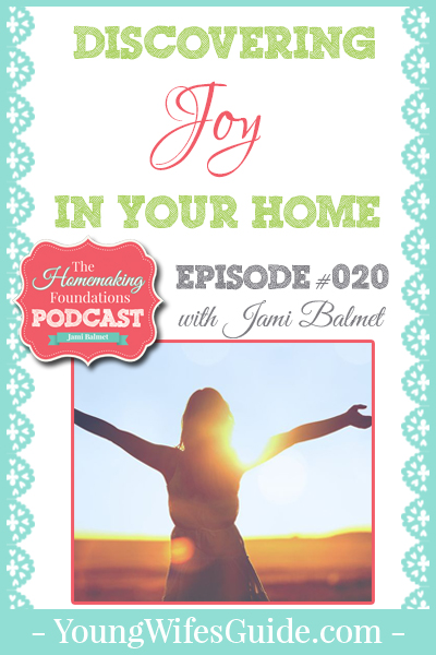 Hf #20 - Dicovering Joy in Your Home - Pinterest