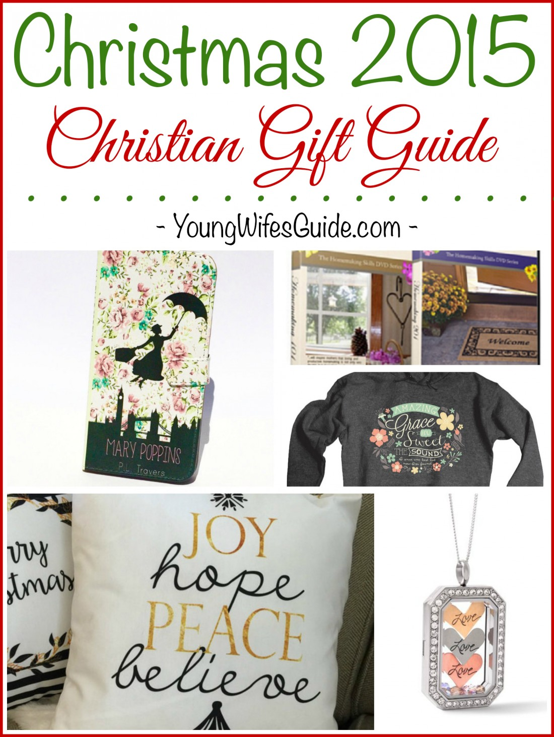 All My Favorite Things This Christmas 2015 Christian Gift