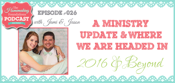 Hf #26 - A Ministry Update