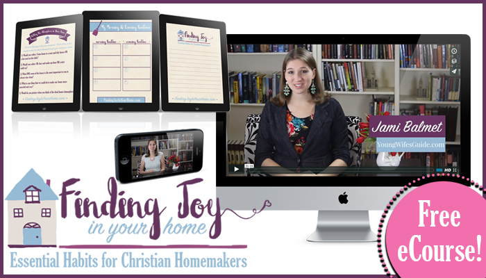 Finding Joy in Your Home Banner