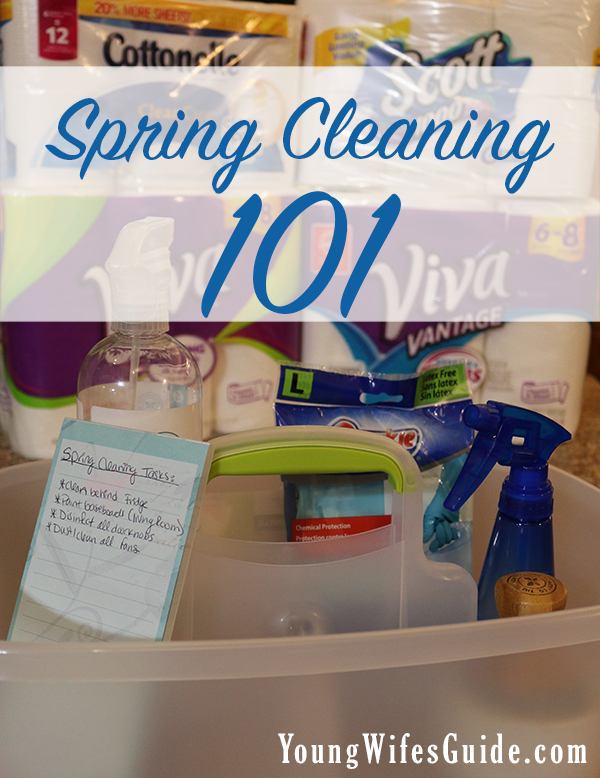 Spring cleaning Basics