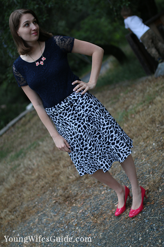 My favorite stitch fix skirt 2