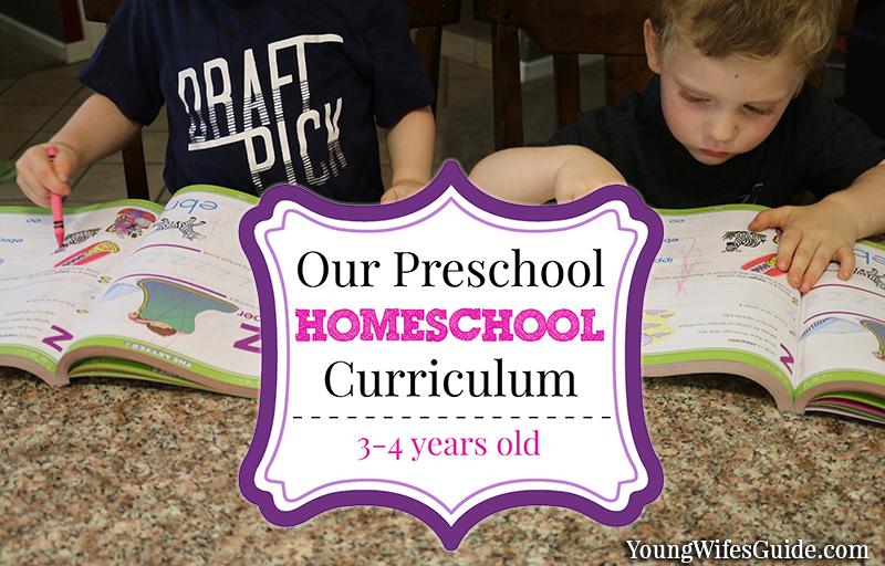 Our preschool homeschool curriculum 2