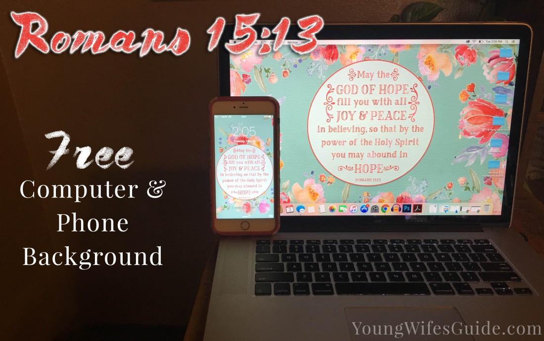 Romans 15-13 Backgrounds