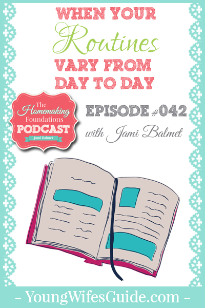 Hf #42 - When your routines vary from day to day - Pinterest