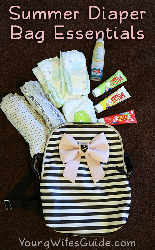 Summer diaper bag