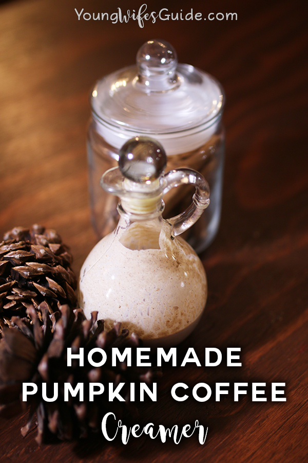 Spice up your coffee with this homemade pumpkin spice coffee creamer!