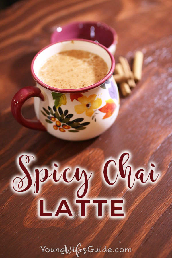 Make this homemade version of a spicy chai latte right on your stove in just a few minutes.