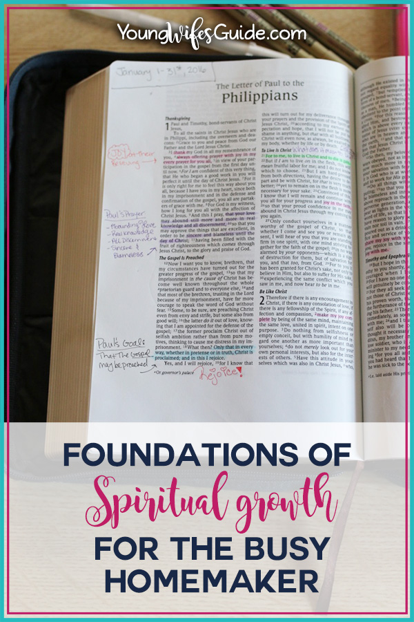 Foundations of Spiritual Growth