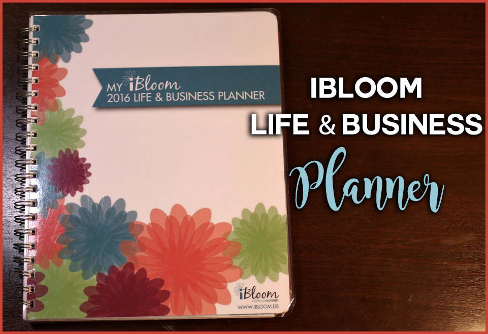 iBloom life and business planner copy